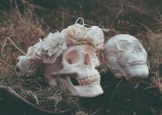 Mr. & Mrs. Till death did they part. Awe. #boho #Halloween