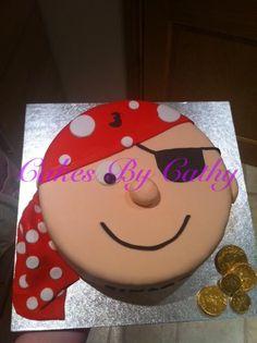 Http://www.facebook.com/cakesbycathyuk  Pirate cake