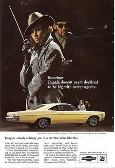 1966 Chevrolet Impala SS ad