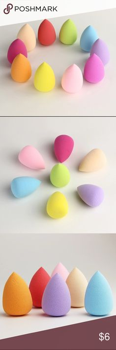 Makeup Sponge Flawless Smooth Powder Water Droplets Shape Makeup Sponge Flawless Smooth Powder Beauty Cosmetic Puff Make up Clean Tools Brand New & High quality!!     Give you a flawless foundation application every single time.     No streaks and no areas with too much makeup or too little.     If used daily, we recommend washing your sponge once a week with a mild cleanser.     Baby shampoo or any low sudsing soap will work. Rinse well and air dry.     package includes: 1 piece Makeup…