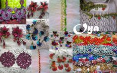 The secret language of oya, the colorful floral and fruit trimmings, crocheted lace that silently sends communication between village women...
