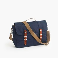 Own it and love it. J.Crew Gift Guide: men's Harwick messenger bag. -JZ
