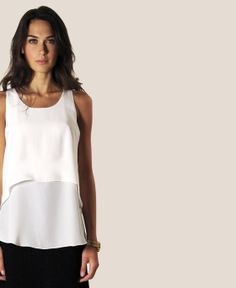 au lait | Premium Nursing Tops | The Nursing Tank in Ivory | www.aulaitshop.com
