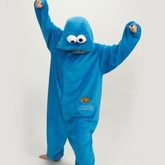 Cheap costumes p, Buy Quality costume office directly from China cosplay costume patterns Suppliers:	New Adult Cookie Monster Pajamas Sleepsuit Sleepwear Pyjamas Unisex Cosplay Costume 	  	1. Product Show Time		&nbs