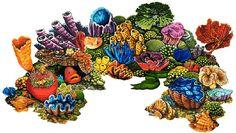 Coral Reef - A - Porcelain Pool Mosaic