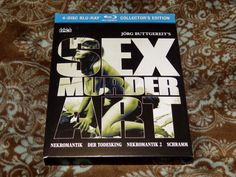 Sex Murder Art: The Films of Jorg Buttgereit (Blu-ray, 2016, 4-Disc Set) w/Bonus