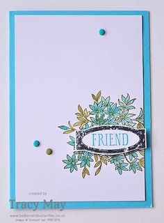 Less is More Stampin' Up! Awesomely Artistic Tracy May