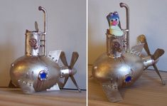 Steampunk Submarine Easter Egg by ~Pietrach on deviantART