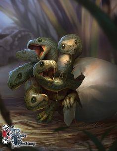 Resultado de imagem para baby bestiary