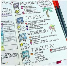 15 Increíbles ideas para dar un toque de color a tus libretas y apuntes