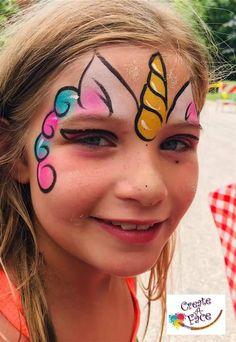 Simple Easy Unicorn Face Paint : simple, unicorn, paint, Unicorn, Painting, Design, Ideas, Face,, Designs,