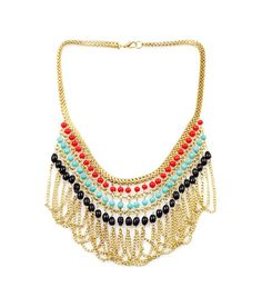 This is a Contemporary Necklace. Super Chic.