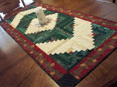 Decorate Dining Table with Quilted Table Runners | Gallery Photos .