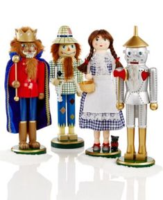 Holiday Lane Set of 4 Wizard of Oz Nutcrackers, Only at Macy's