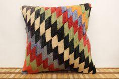 Throw Pillow 16 x 16 Decorative Kilim Pillow by kilimwarehouse, $42.00