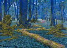 森のシンフォニー 磯野宏夫の作品