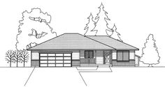 Cottage House Plan with 1199 Square Feet and 2 Bedrooms from Dream Home Source   House Plan Code DHSW16087