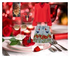 """""""First date"""" by luisa6 on Polyvore featuring moda, Exclusive for Intermix, Mercedes Castillo, Gucci, Chloé y NARS Cosmetics"""