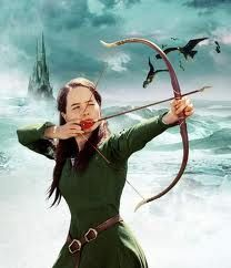 susan with her bow and arrow