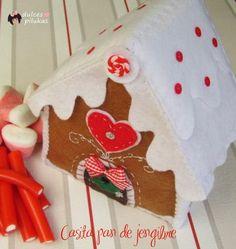 dulces pilukas: Casita de pan de jengibre. Gingerbread house.
