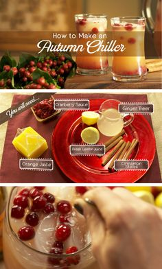 How to make the perfect autumn chiller mocktail - perfect if you have ...