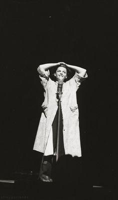Judy Garland at The Palace in 1952.