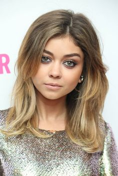 Love her hair color <3 Sarah Hyland - 2014 Glamour Women Of The Year Awards in London