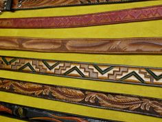 belts by Across Leather, via Flickr