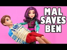 Mal Saves Ben & Jay Saves Descendants Mal's Life From Drowning. DisneyToysFan