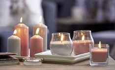 Candles make a room extra cosy!