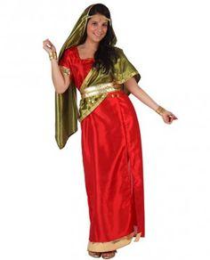 Disfraz de mujer hindu