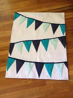 Custom baby quilt order for Jessica