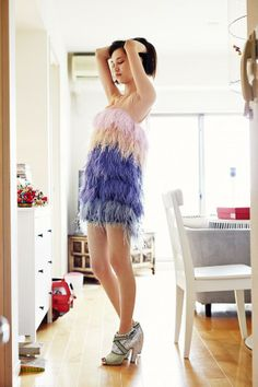 Inside 'Fashionable Selby': Kiko Mizuhara