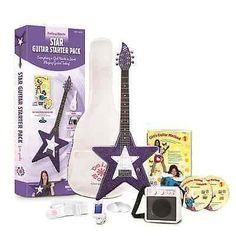 Daisy Rock Girl Guitars: Star Guitar Starter Pack Cosmic Purple 14-7018