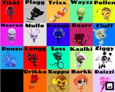 Did you notice that every single one of them has double letters? Hell, Nooroo has two sets of them. - #double #Hell #letters #Nooroo #notice #sets #Single Miraculous Ladybug Fanfiction, Miraculous Characters, Meraculous Ladybug, Ladybug Comics, Ladybug Crafts, Ladybug Party, Pet Anime, Miraculous Ladybug Toys, Tikki Y Plagg