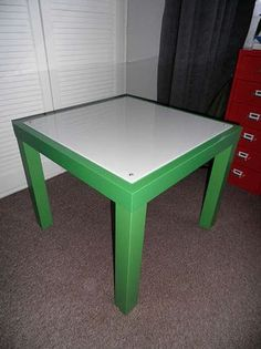 DIY Lightbox build with Ikea Lack table  I have  wanted a lightbox for years!!! This guy decided to build a photo/tracing lightbox into an Ikea coffee table!! Full instructional included!! YAY!
