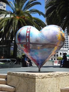 'I Left My Heart in San Francisco' - art in San Francisco, CA