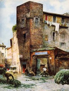 Case dei Margana - Ettore Roesler Franz