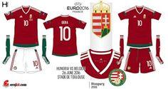 Hungary home kits for Euro 2016.