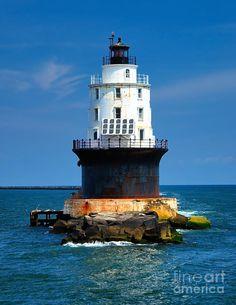 Harbor Of Refuge Lighthouse