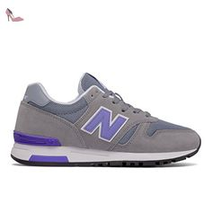 W420, Chaussures de Fitness Femme, Multicolore (Cyclone/Alpha Pink), 43 EUNew Balance
