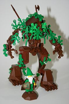 LEGO - Lord of the Rings - Ent & Wizard