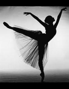 Ballet Bailarina Blanco & Negro Puntas tutu