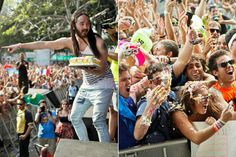 master of swag: Steve Aoki. Photo from Ultra Music Festival 2012