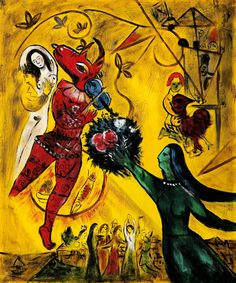 Marc Chagall – The Dance