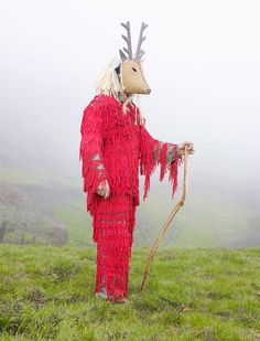 """Creative Costumes of Still-Practiced Pagan Rituals of Europe. Charles Fréger's """"Wilder Mann"""" series."""