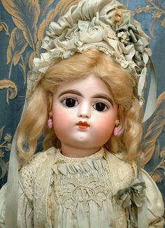 "Kathy Libraty Dolls: 22"" FRANCOIS GAULTIER BEBE Antique French Doll"