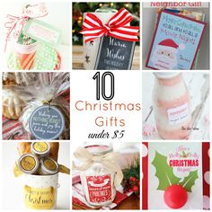 10 Christmas Gift Ideas Under 5 Easy Homemade Handmade And Diy Gifts For