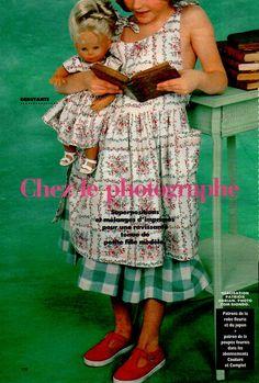PAR AMOUR DES POUPEES :: M&T 1993-06 CECILE CHEZ LE PHOTOGRAPHE