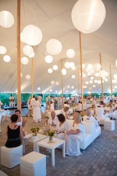 Sperry tents are the perfect outdoor venue.